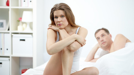 Husband Upset at his Erectile Dysfunction
